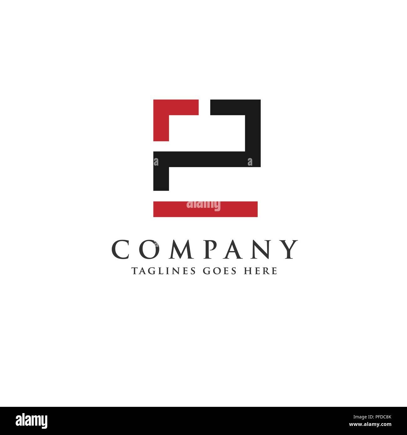 letter p and e logo design vector illustration template letter pe logo vector creative letter ep letter logo