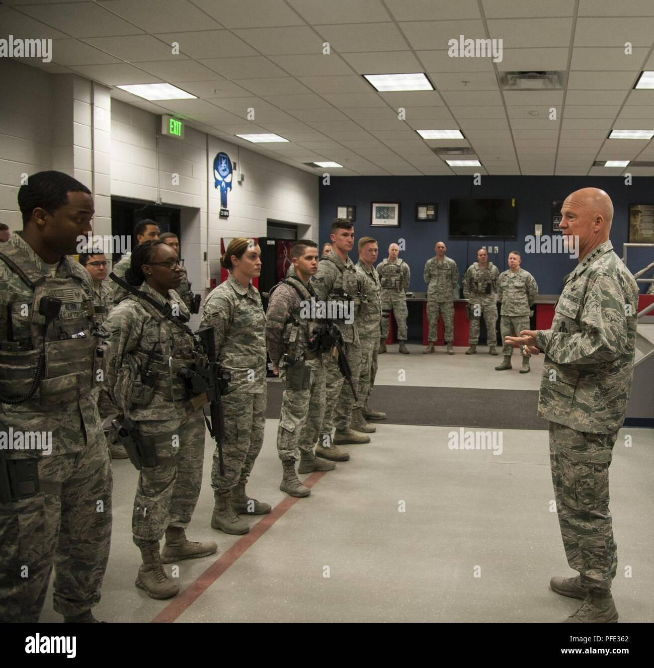 PETERSON AIR FORCE BASE, Colo —Gen  Jay Raymond, Air Force
