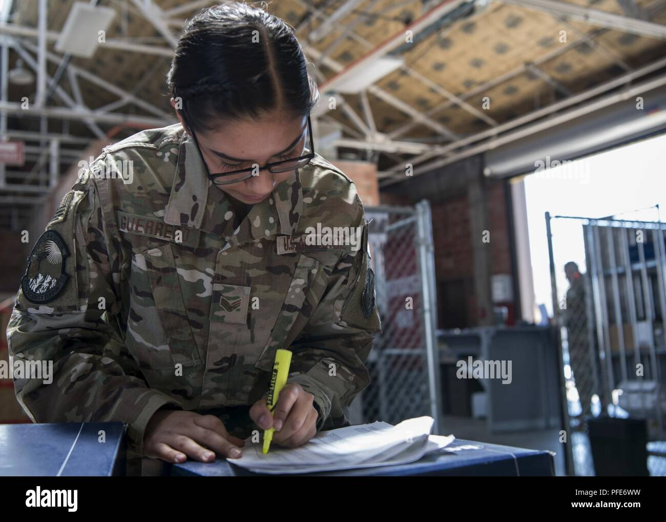 senior airman maria guerrero 377th security support squadron supply