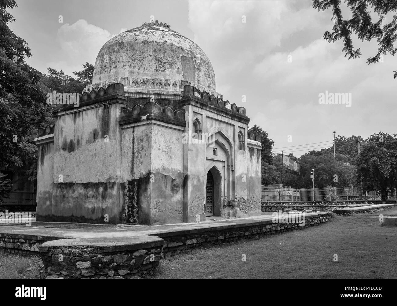 New Delhi , India- August 11, 2014 A View Of Choti Gunti. - Stock Image