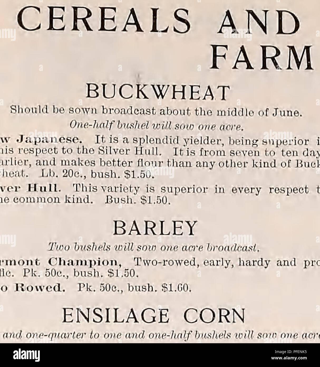 Descriptive catalogue of vegetable, flower, and farm seeds
