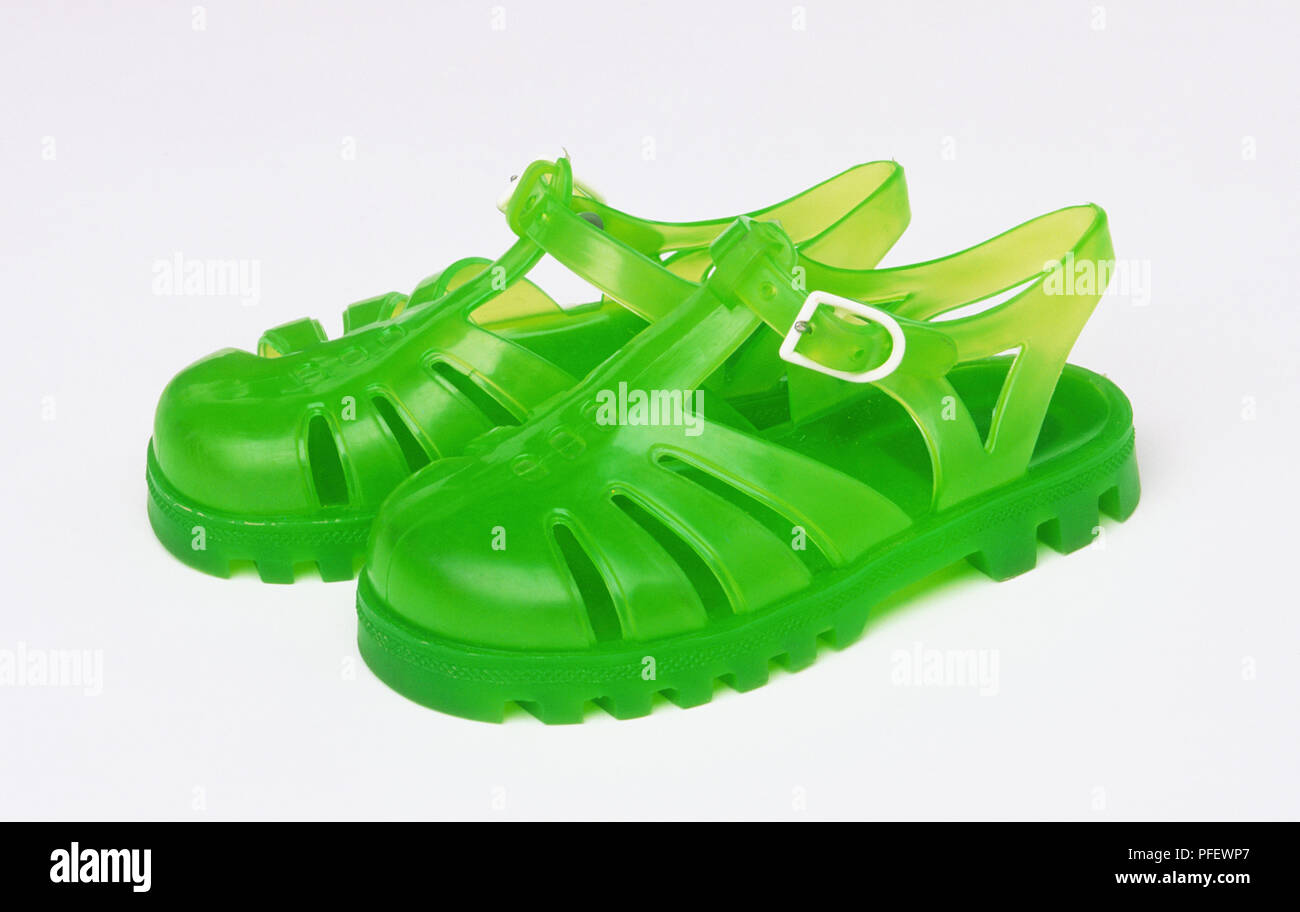 198f3aa29341 Jelly Shoes Stock Photos   Jelly Shoes Stock Images - Alamy
