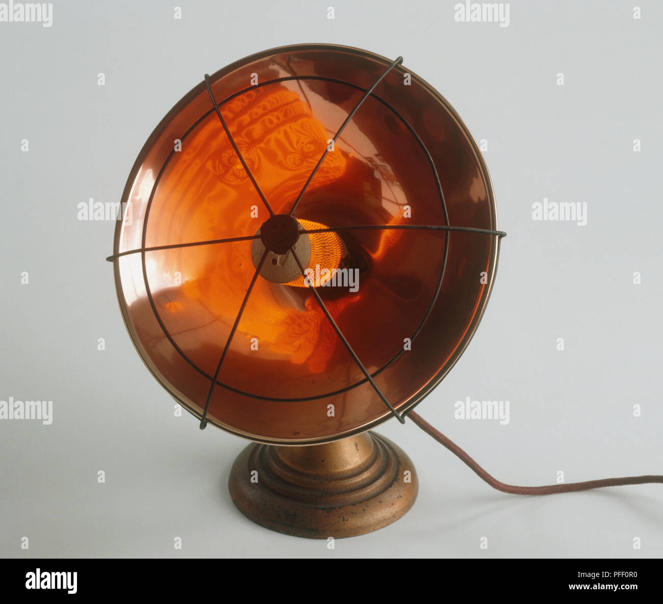 Electric heater, 1930s - Stock Image