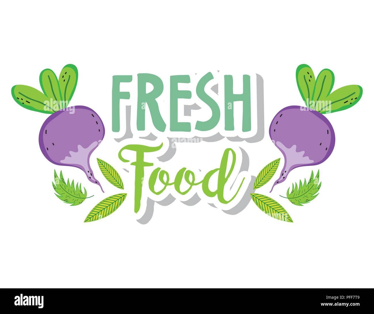 Farm fresh cartoons - Stock Vector