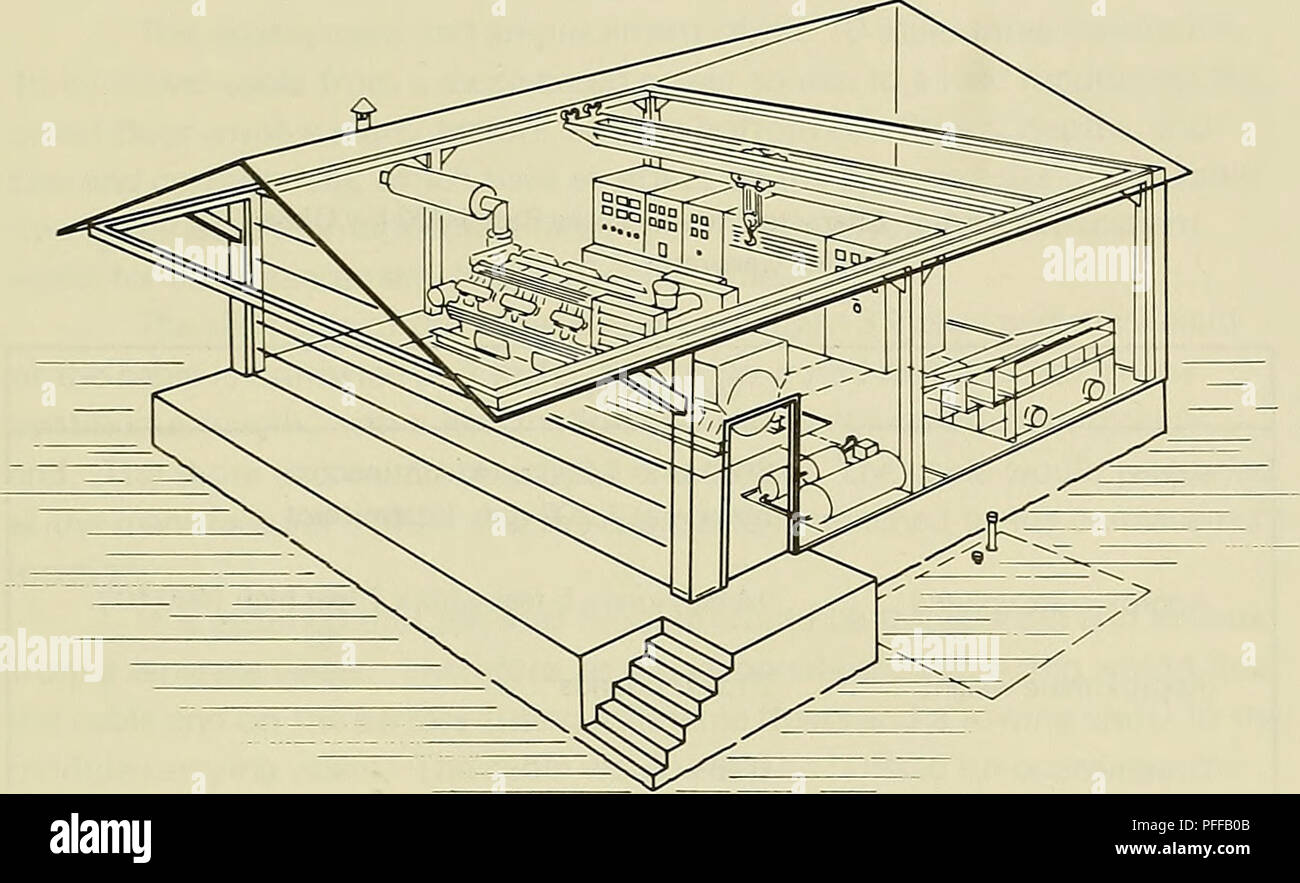 Engine Generator Stock Photos Images Alamy Diesel Power Plant Diagram Deep Ocean Systems Electric Distribution Hydroelectric Plants Figure A