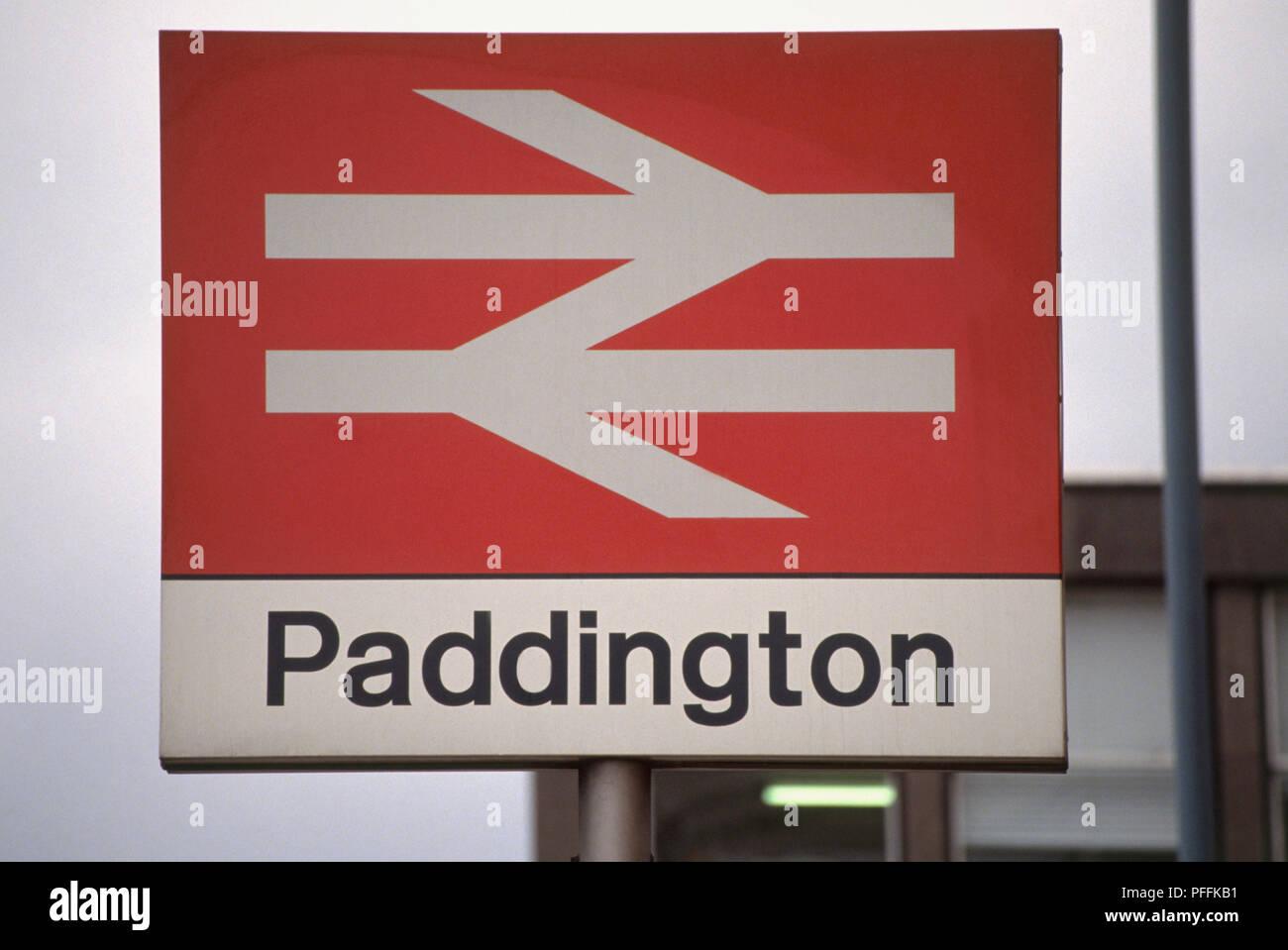 Great Britain, England, London, Paddington Railway Station, British