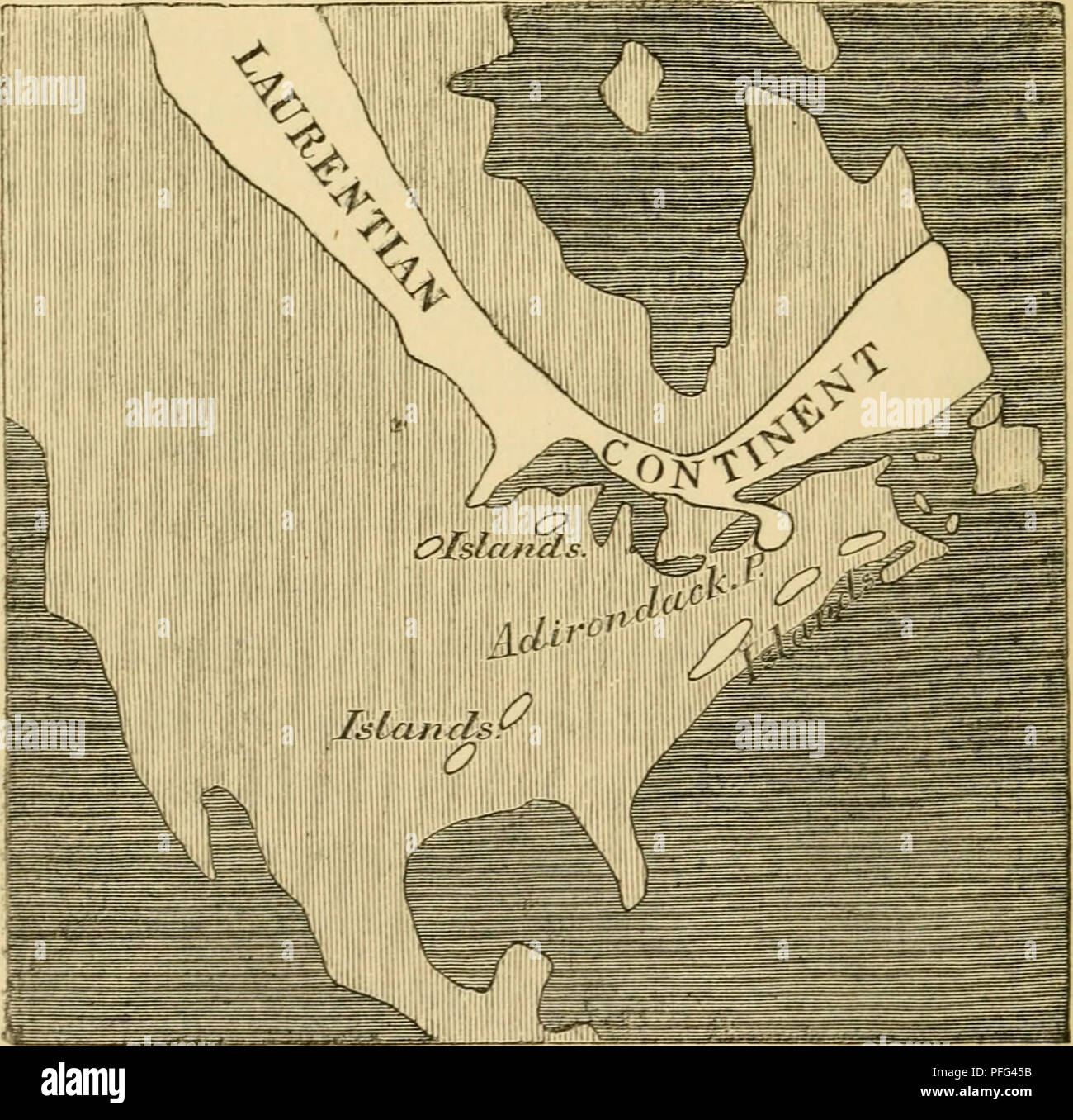 Oldest Map Of America.Dawn Of Life Being The History Of The Oldest Known Fossil Remains