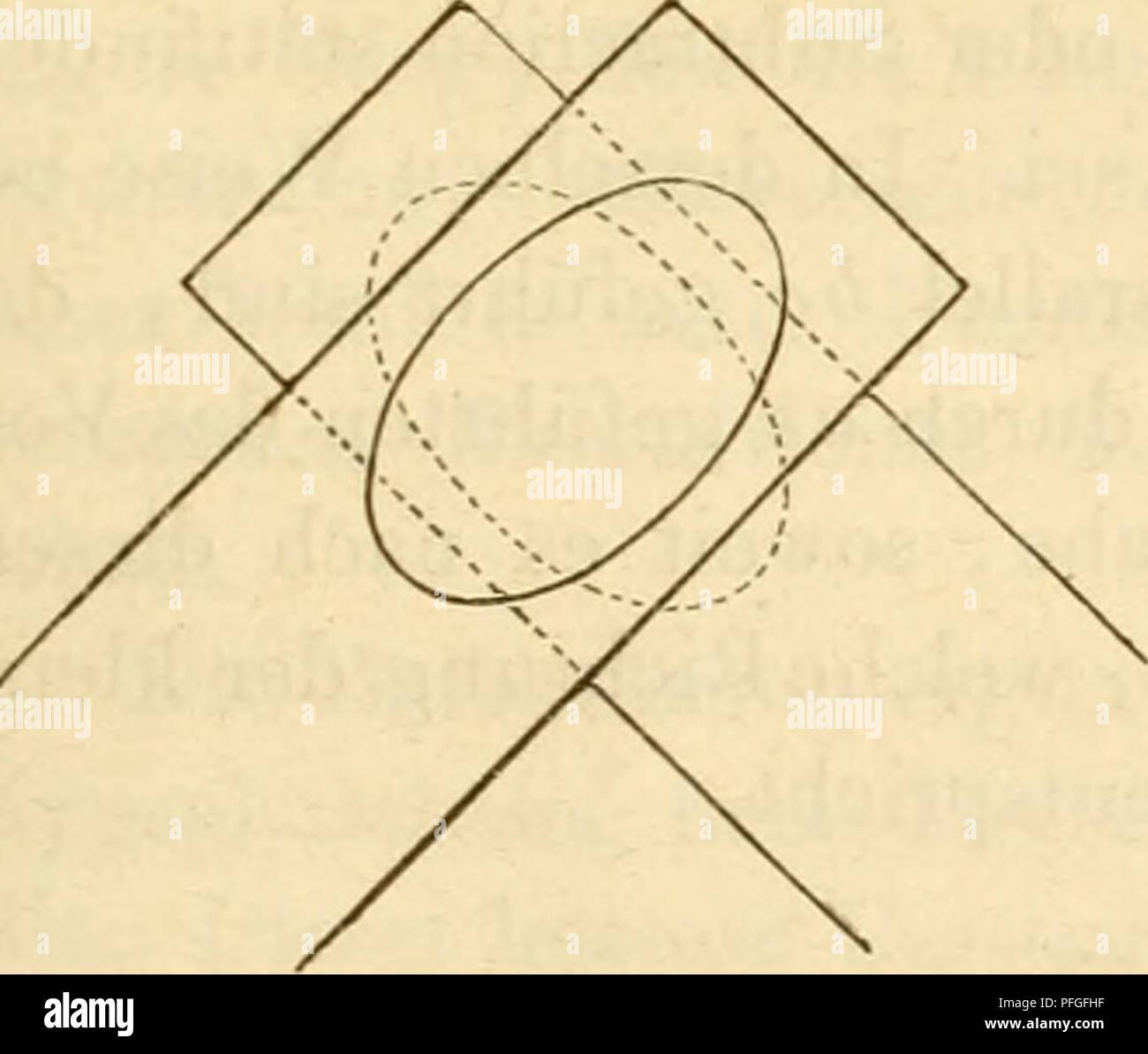 . Das Mikroskop, Theorie und Anwendung desselben. Microscopes. Verhalten anisotroper krystallähnlicher Körper. 323 die coniplementären Farben, welche den Newton'schen Ringen im durchgelassenen Lichte entsprechen, angegeben. Erste Ordnung. Zweite Ordnung. Schwarz Lebhaftweiss Purpurroth Hellgrün Eisengrau Weiss Violett Grünlichgelb Graublau Gelblichweiss Indigo Lebhaftgelb Heller graublau Gelbbräunlich Blau Orange Hellbläulich Gelbbraun Blaugrünlich Orangebraun Grünlichweiss Braunroth Grün Hellcarminroth Weiss llüthviolett Hellergrün Purpurroth Gelblichweiss Violett Gelblichgrün Purpurviolett G Stock Photo
