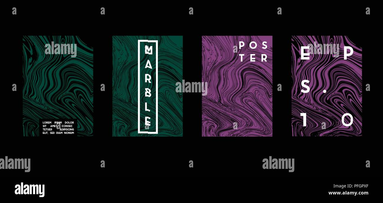 poster with marble geometric pattern cool colorful backgrounds