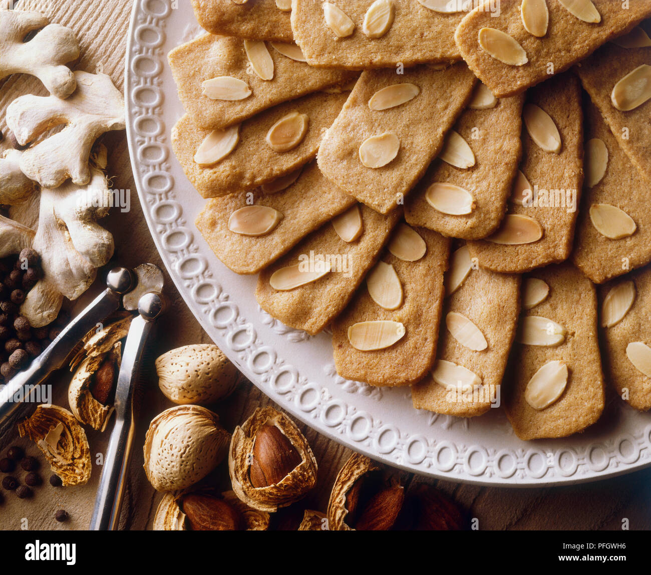 Speculaas Or Spekulatius Christmas Cookies Made With Ginger