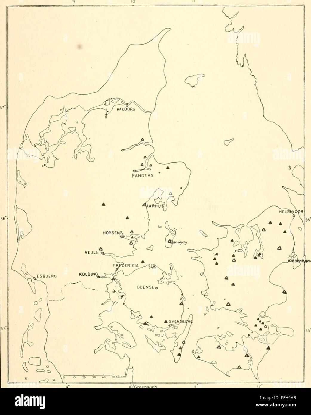 Dansk Ornithologisk Forenings Tidsskrift Birds Birds Kort Til