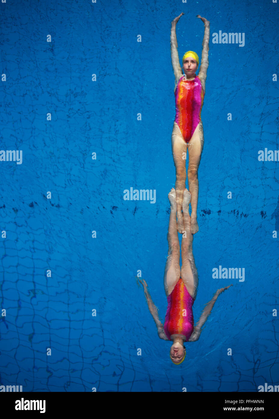 Synchronized Swimming Stock Photos Synchronized Swimming Stock