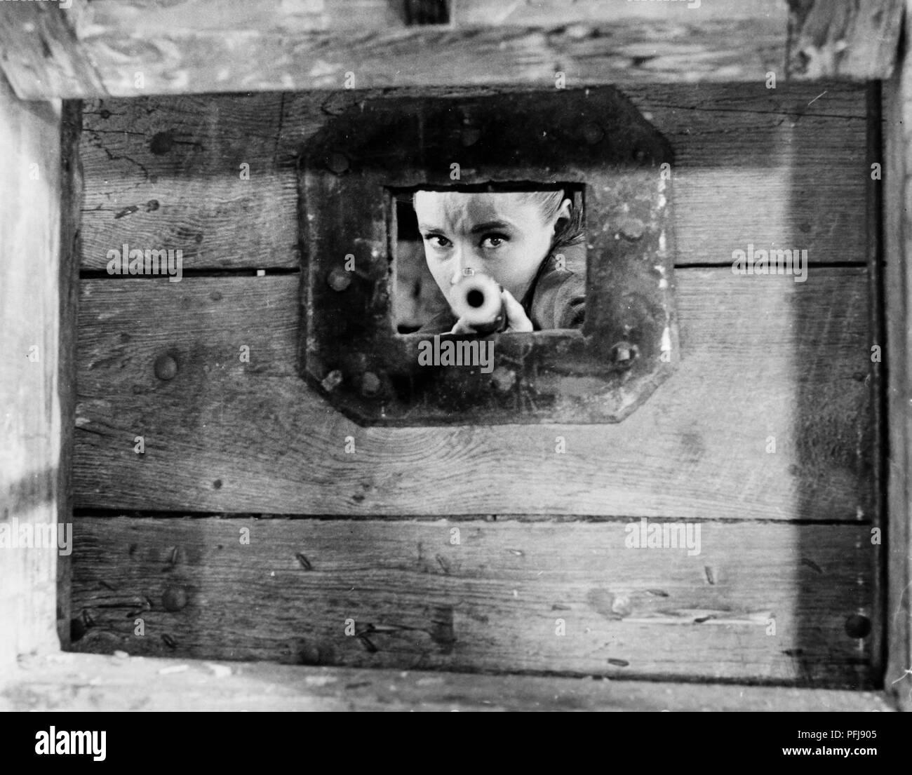 audrey hepburn, the unforgiven, 1960 - Stock Image
