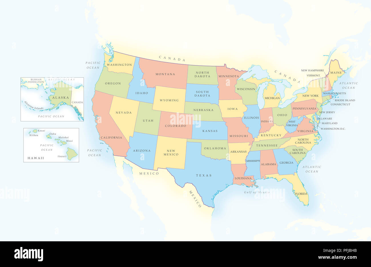Map of United States of America, separate bo showing ... Map Of America Showing Alaska on lighthouse of america, alaska map united states, alaska usa map, alaska map with cities, alaska map canada, alaska map china, mexico of america, alaska north america, home of america, alaska map gold, canada of america,
