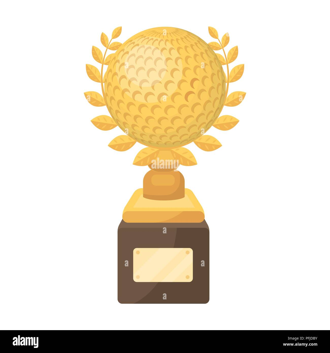 Cup For Winning A Golf Tournament Golf Club Single Icon In Cartoon Style Vector Symbol Stock Illustration Stock Vector Image Art Alamy