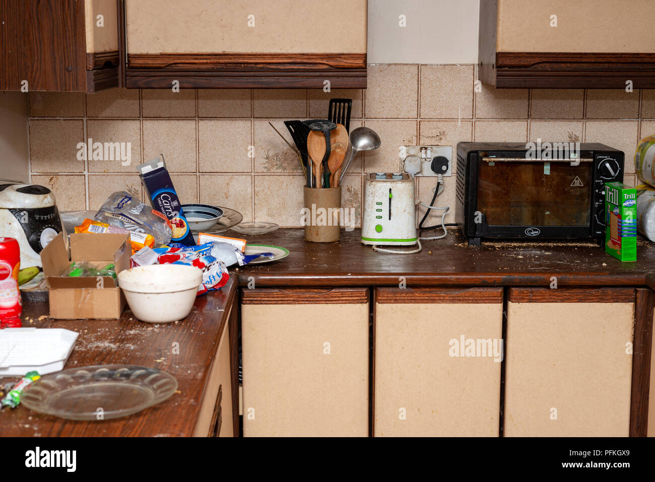 Dirty Kitchen Stock Photos & Dirty Kitchen Stock Images - Alamy on unhealthy kitchen, unkept kitchen, funny back in the kitchen, restaurant kitchen, wet kitchen, ugly kitchen, used kitchen, artisan kitchen, unsanitary kitchen,