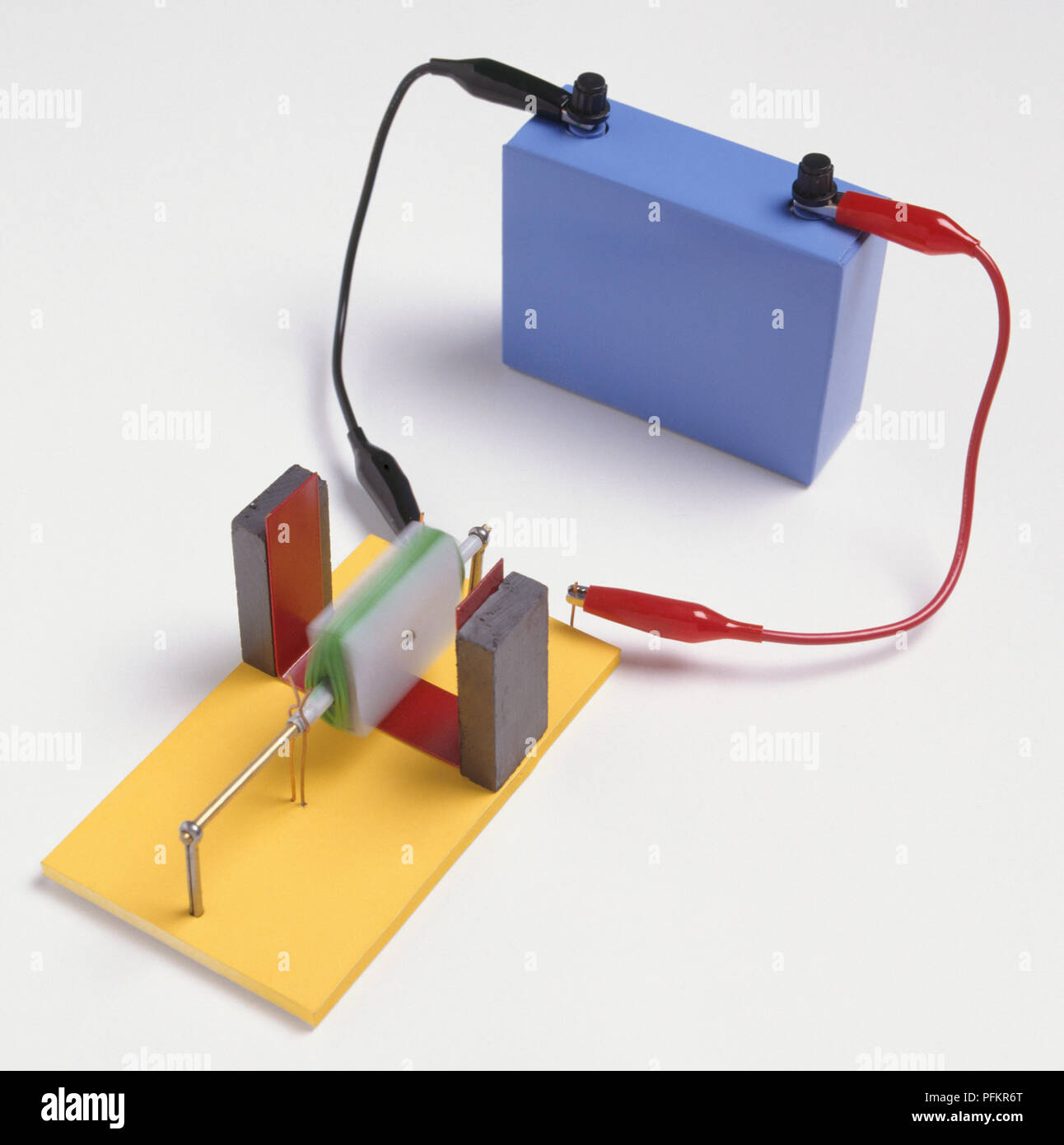 A basic electric motor consisting of a battery, magnets ... on wire fire, wire electrical, wire code, wire copper, wire metal, wire car, wire machine, wire way, wire light, wire lighting, wire resistance, wire track, wire graphic, wire coil, wire cross, wire design, wire ring, wire harness drawing, wire generator to breaker box, wire switch,
