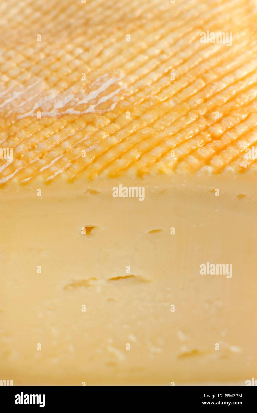 French Crayeux de Roncq cow s milk cheese, close-up Stock Photo ... 42d313d4aee4