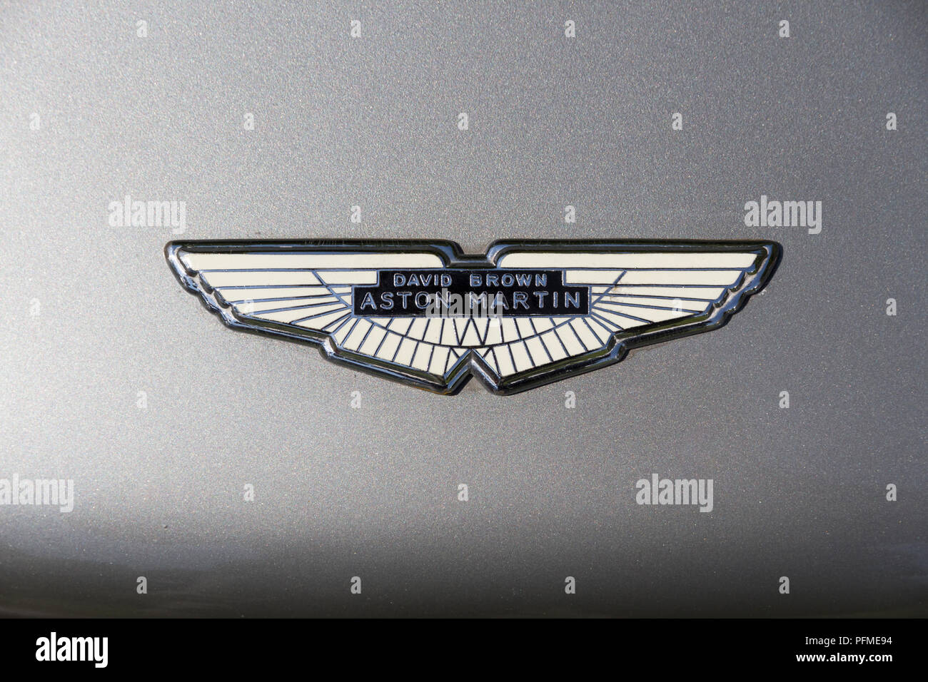 aston martin emblem stock photos & aston martin emblem stock images