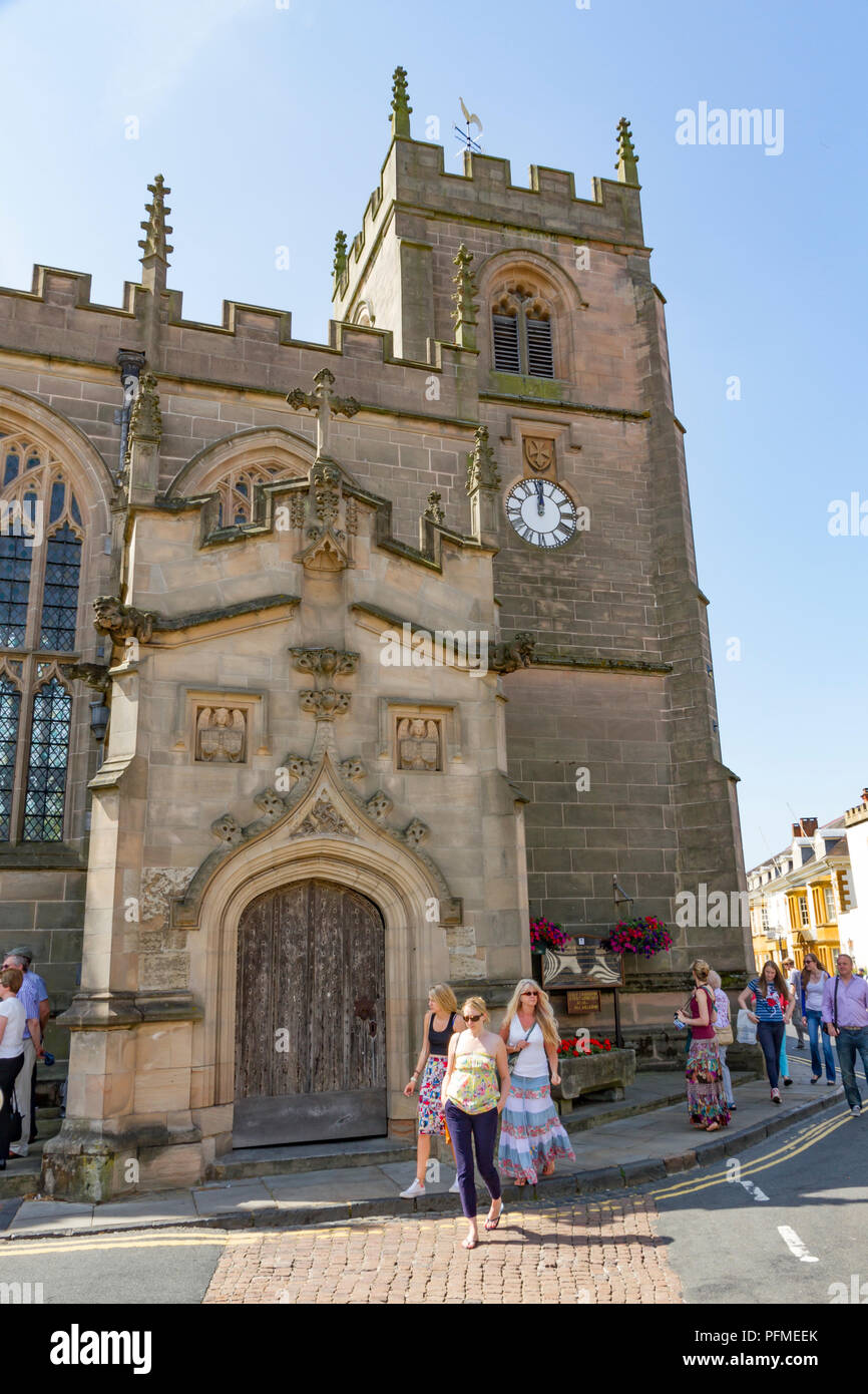 The Guild Chapel in Stratford Upon Avon - Stock Image