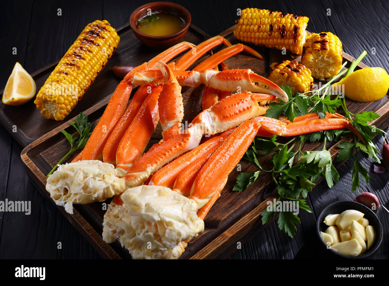 Snow Crab Legs Stock Photos & Snow Crab Legs Stock Images - Alamy