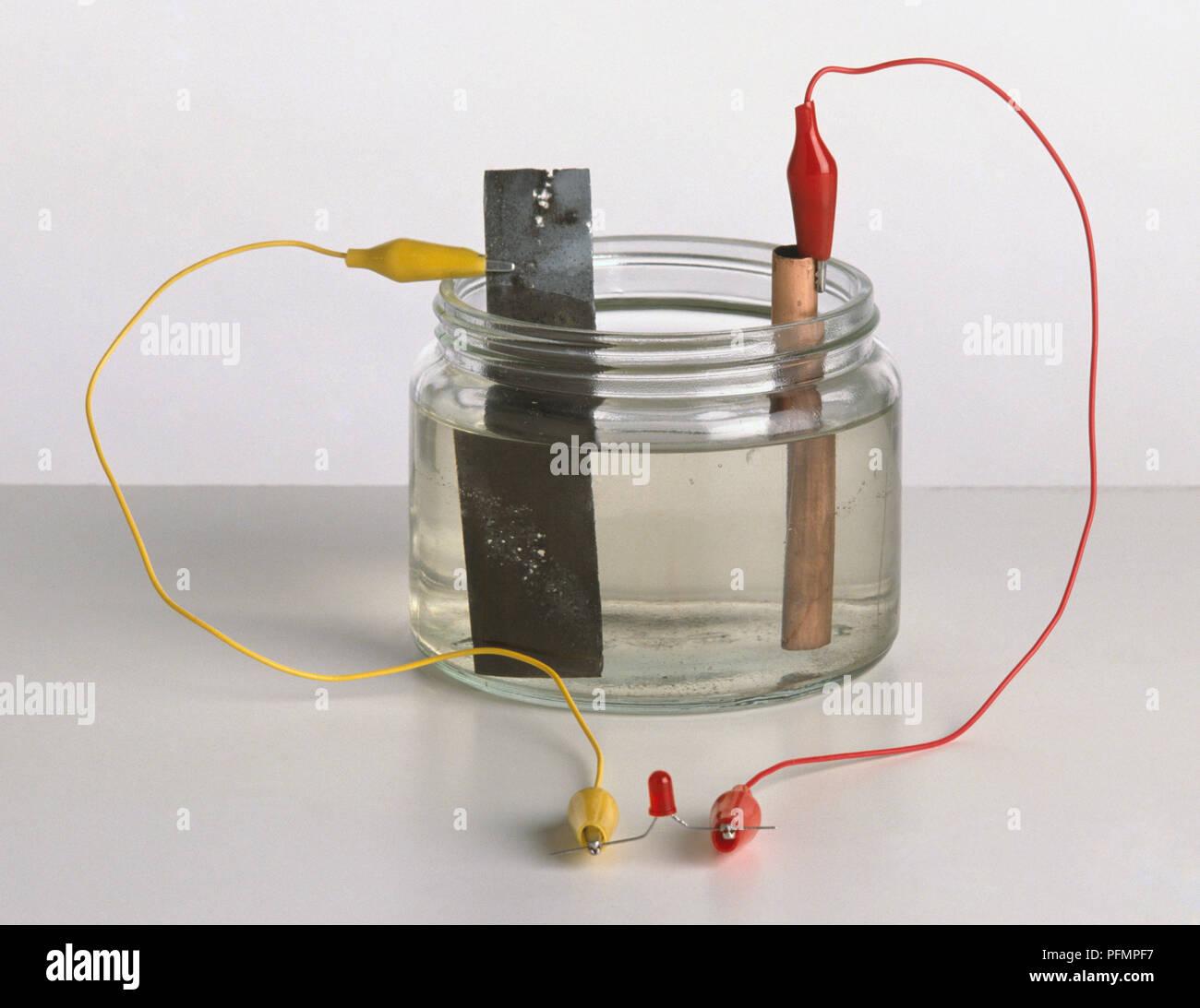 Lemon Battery Circuit Diagram