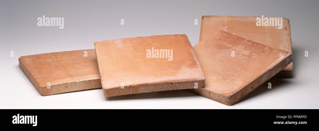 Unglazed Ceramic Tiles Close Up Stock Photo 216201761 Alamy