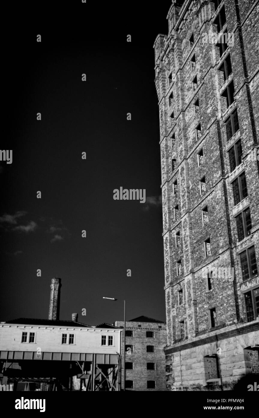 Stanley Dock Bridge Liverpool Stock Photo