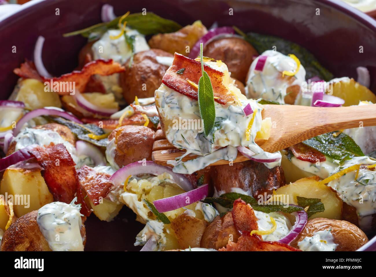 Potato Salad Greek Yogurt Bacon