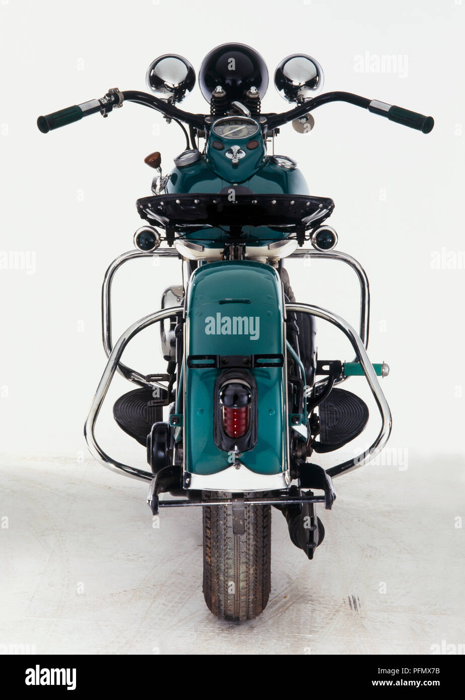 harley davidson wld 1932 1936 rear view stock photo 216203887 alamy