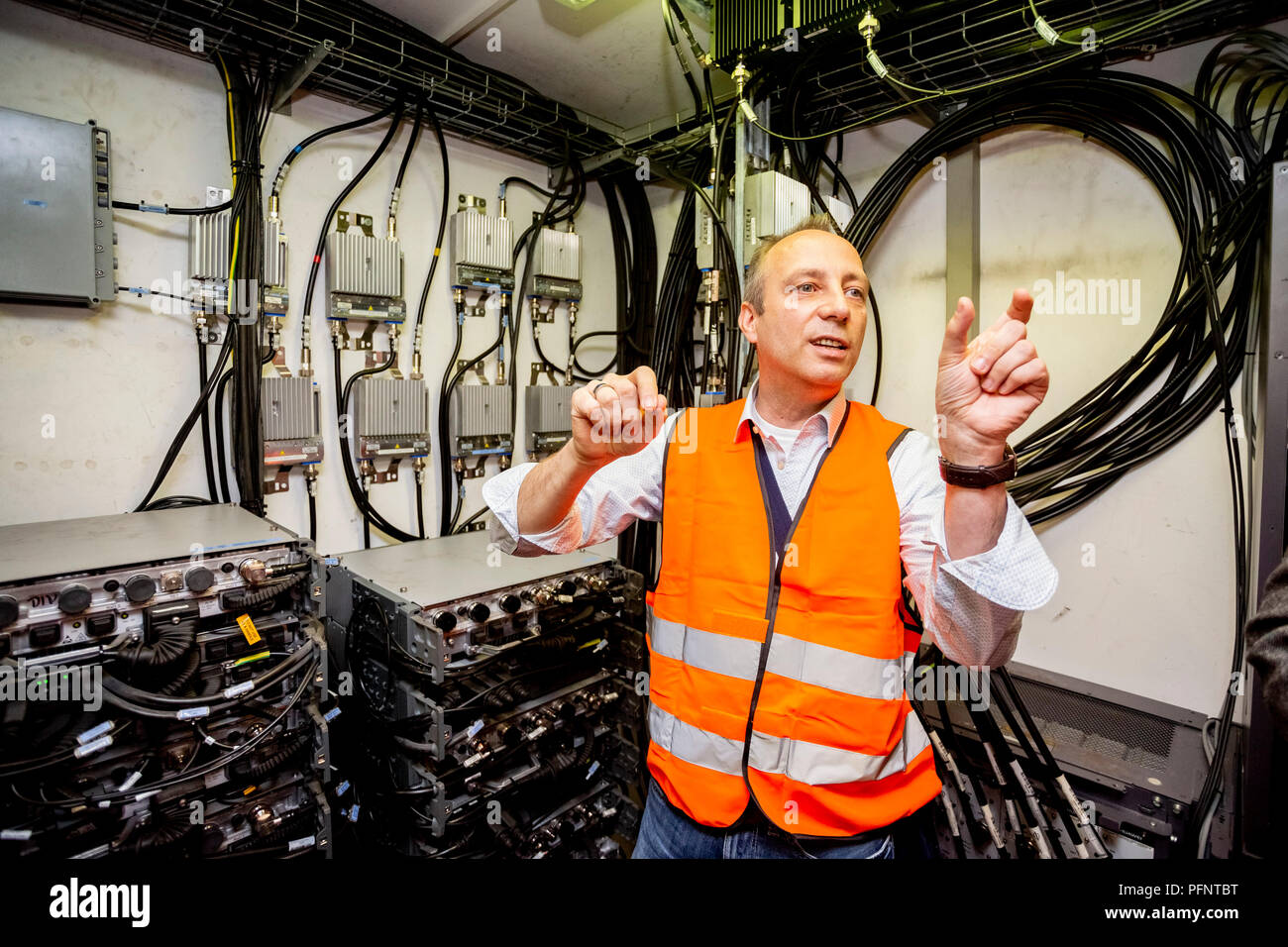 Berlin Tunnels Stock Photos Images Alamy A Mobile Radio Wiring 27 June 2018 Germany Matthias Johannes Group Leader For Special And Business