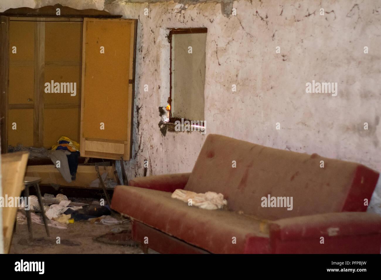 Abandoned places - Stock Image