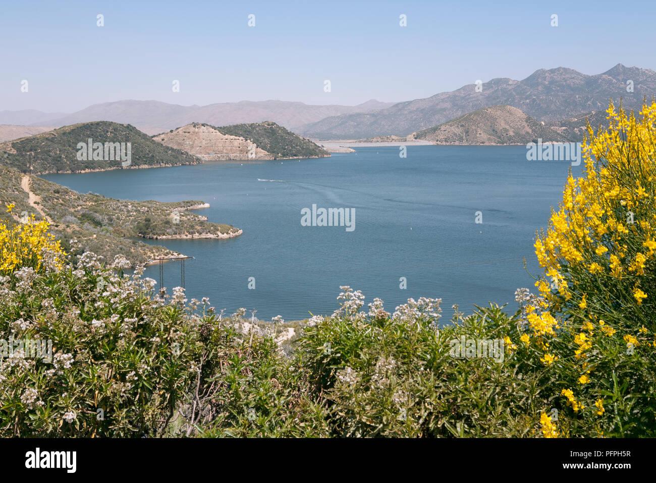 USA, California, San Bernardino County, Silverwood Lake