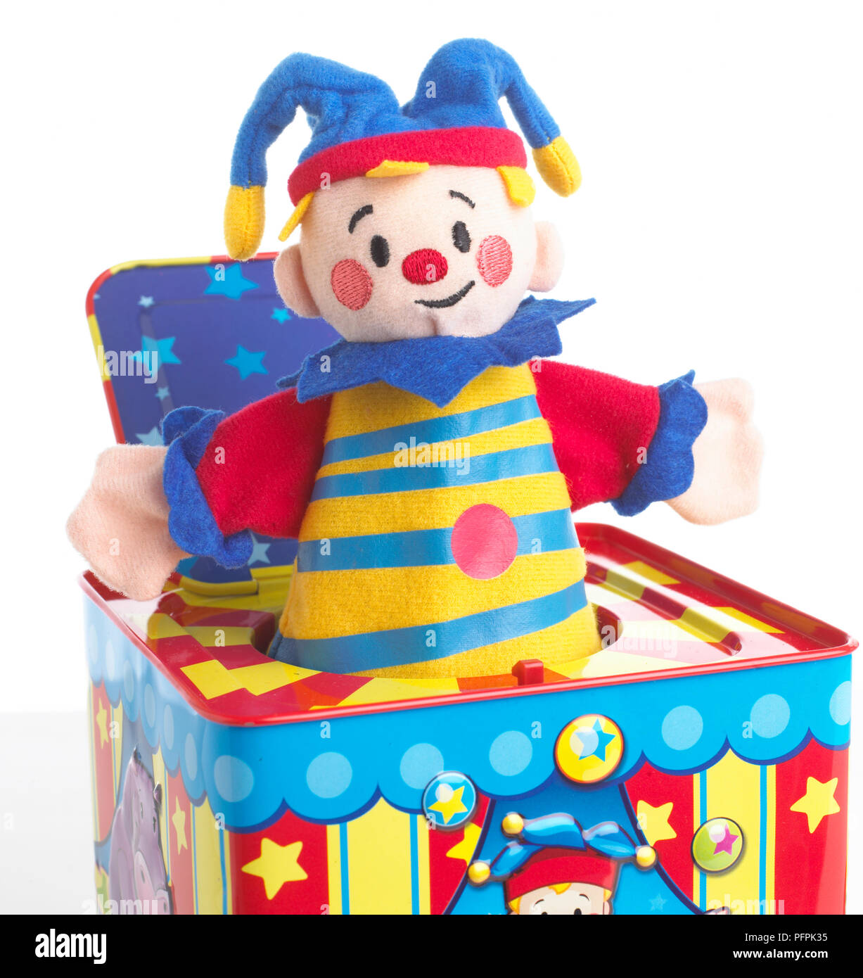 Jack In The Box Toy High Resolution Stock Photography And Images Alamy