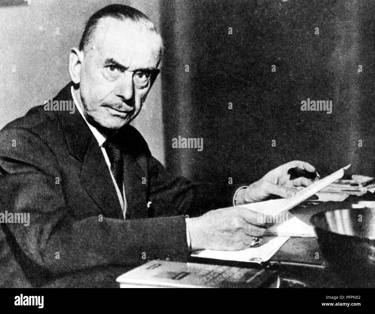 thomas mann (1875-1955) - Stock Image