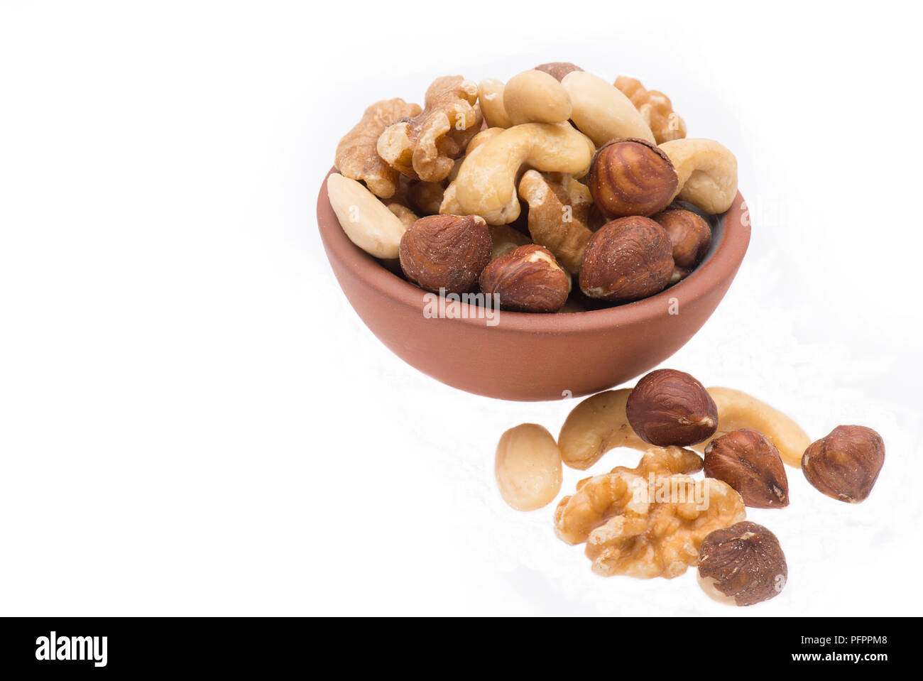 Miy of nuts - Stock Image