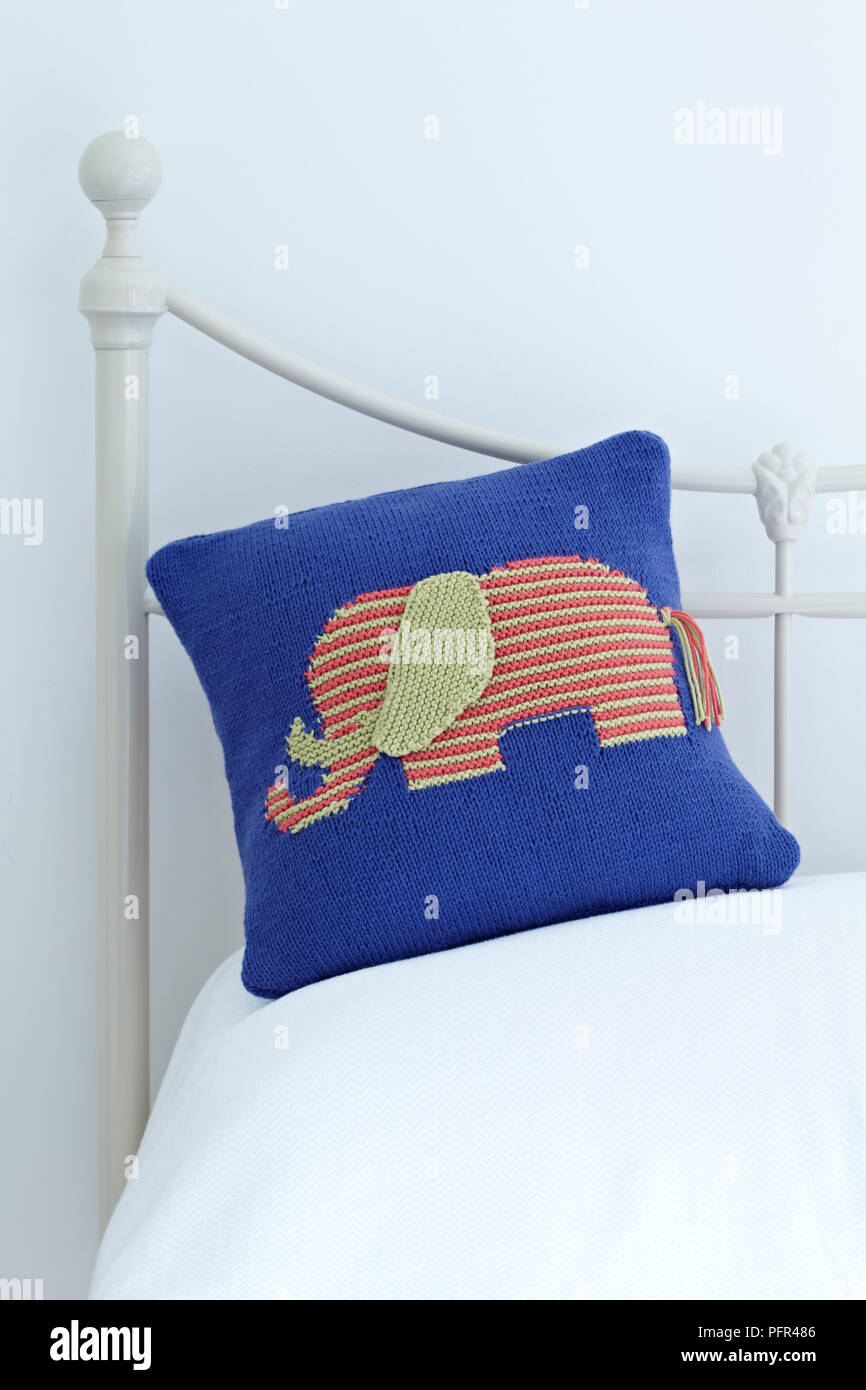 A soft and comfy elephant design cushion perfect for decorating a ... | 1390x866