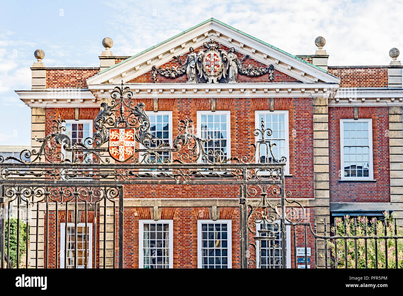 Cambridge (England, Great Britain): Stuart House, Careers Service for students - Stock Image