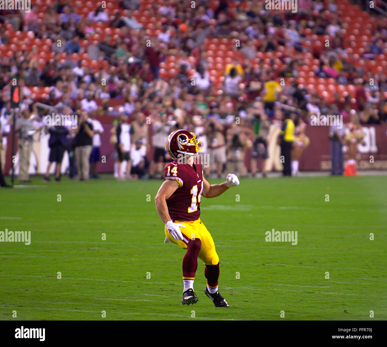 Redskins New Stadium: Washington Redskins Stadium Stock Photos & Washington