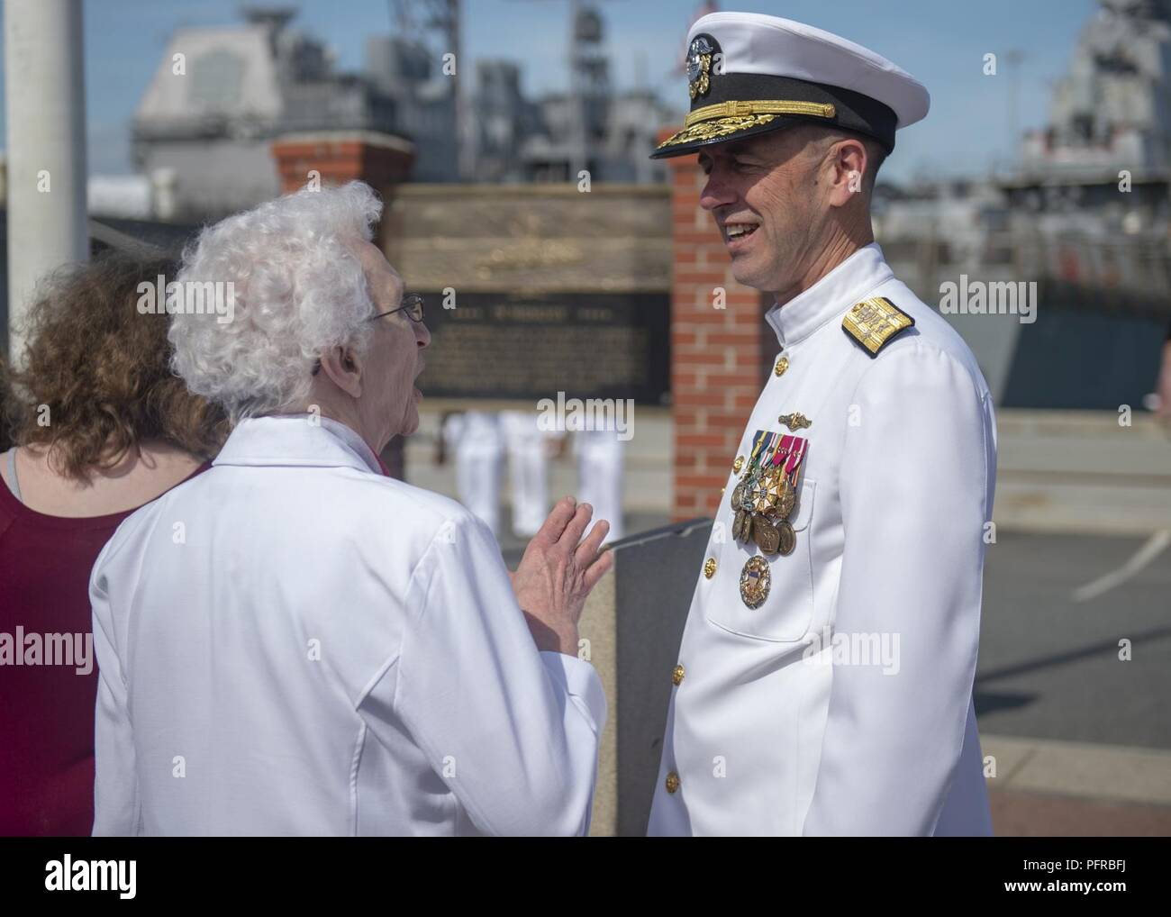 NORFOLK (May 26, 2018) Chief of Naval Operations (CNO) Adm