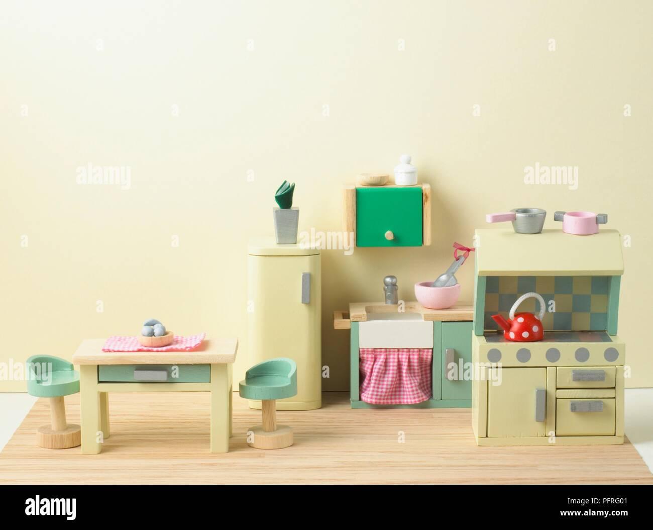 Dollu0027s House Kitchen   Stock Image
