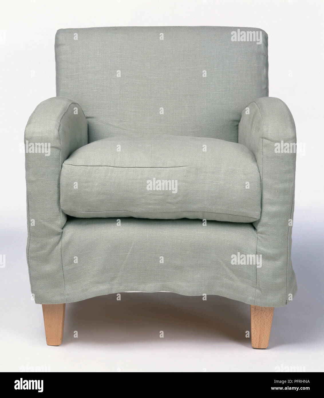 1930s-style armchair - Stock Image