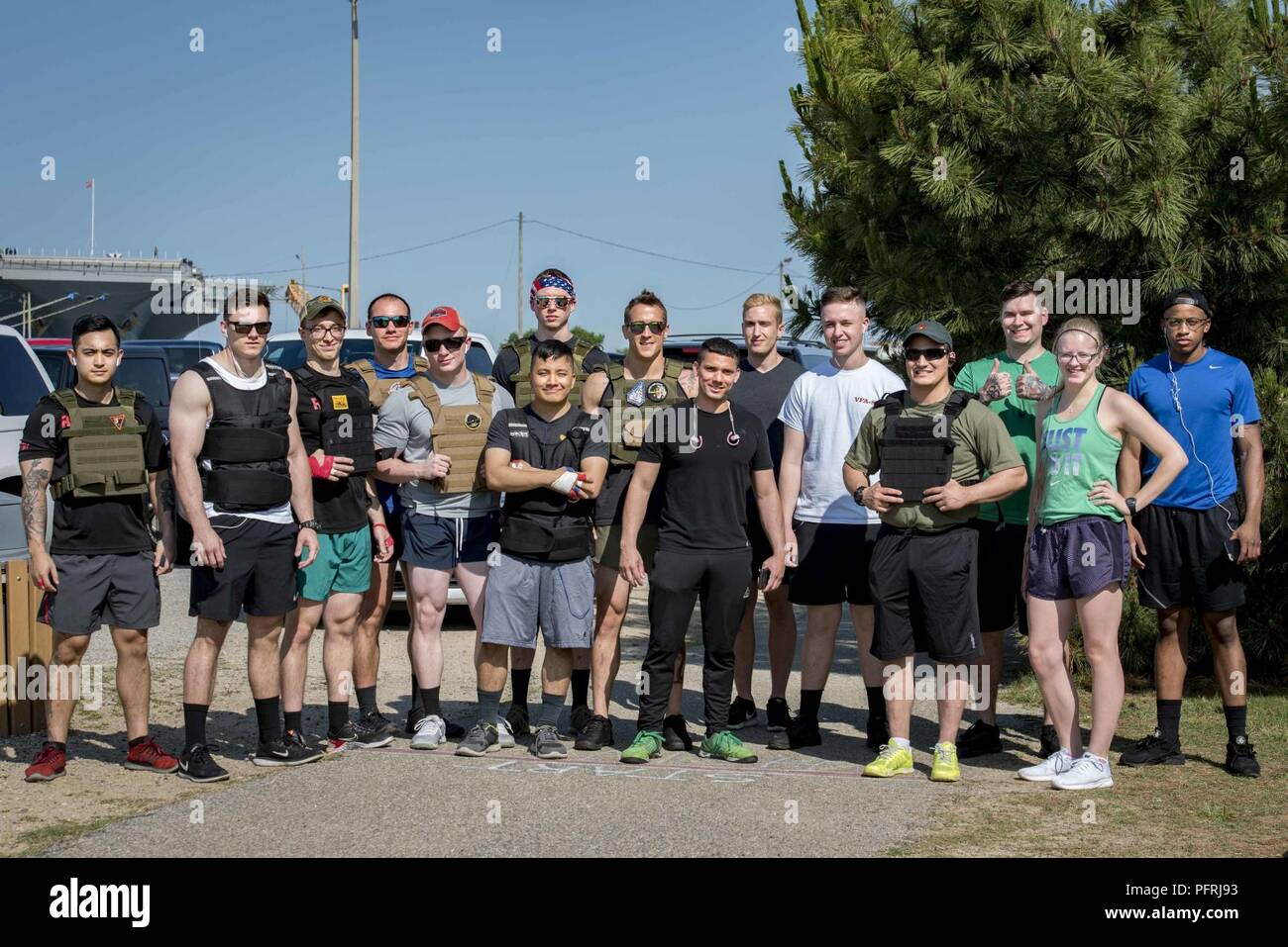 NORFOLK, Va  (May 24, 2018) Sailors assigned to the aircraft