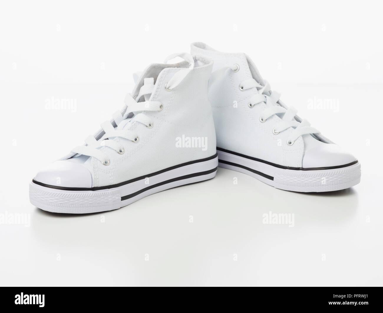 Converse customising - Stock Image