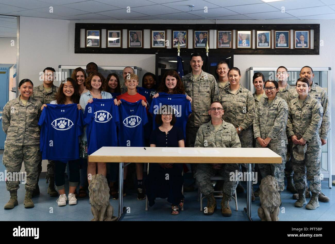 Ramstein High School Students Staff And 86th Communications