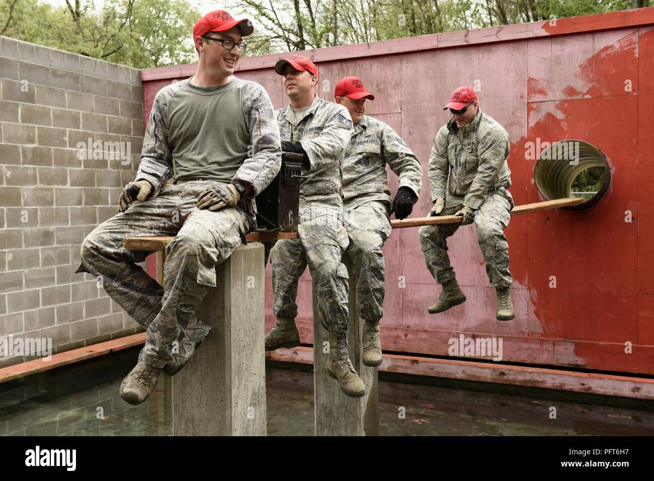 U S  Air Force security forces specialists assigned to the
