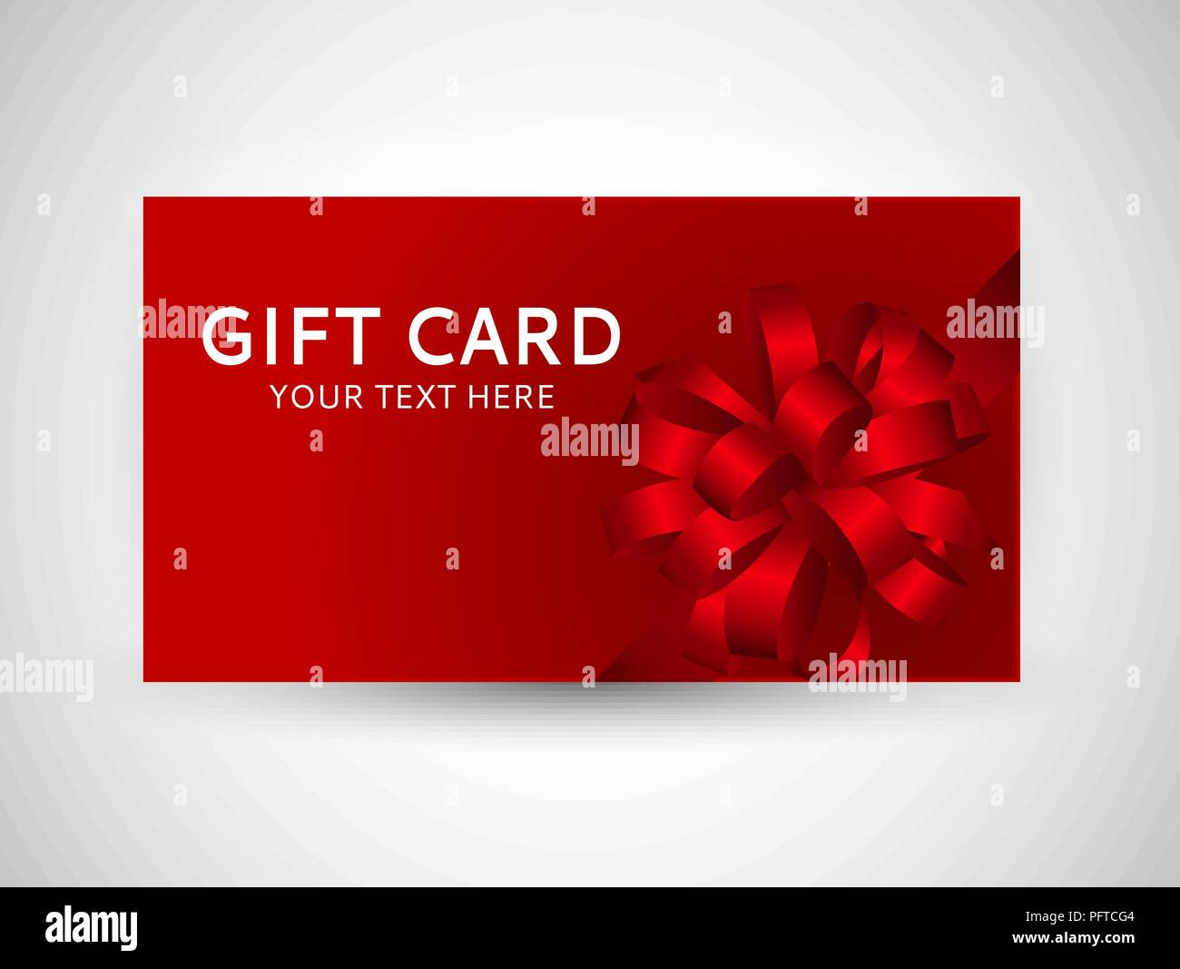 Gift Certificate Christmas Design Vector Stock Photos Gift