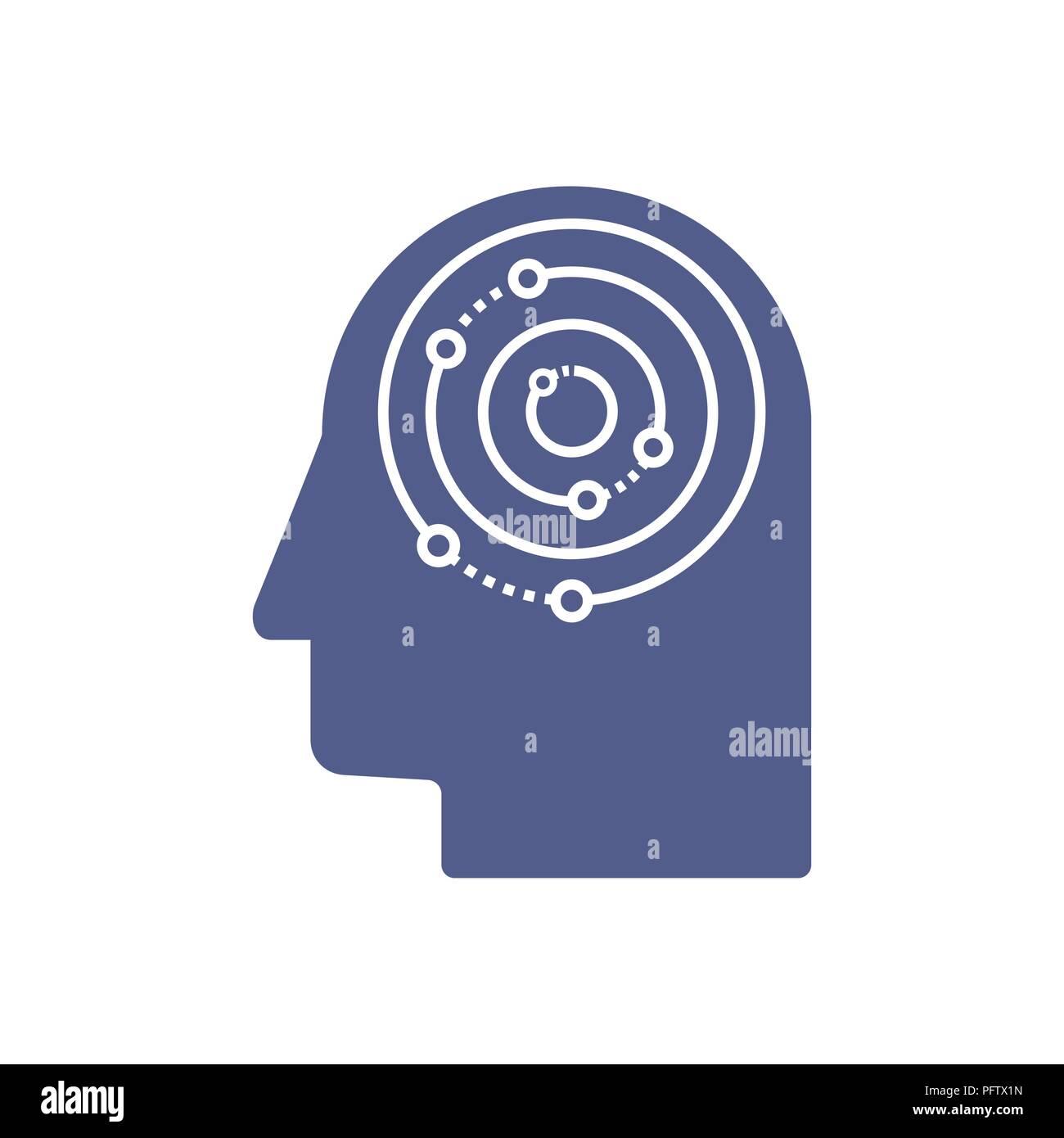 Human Head Template