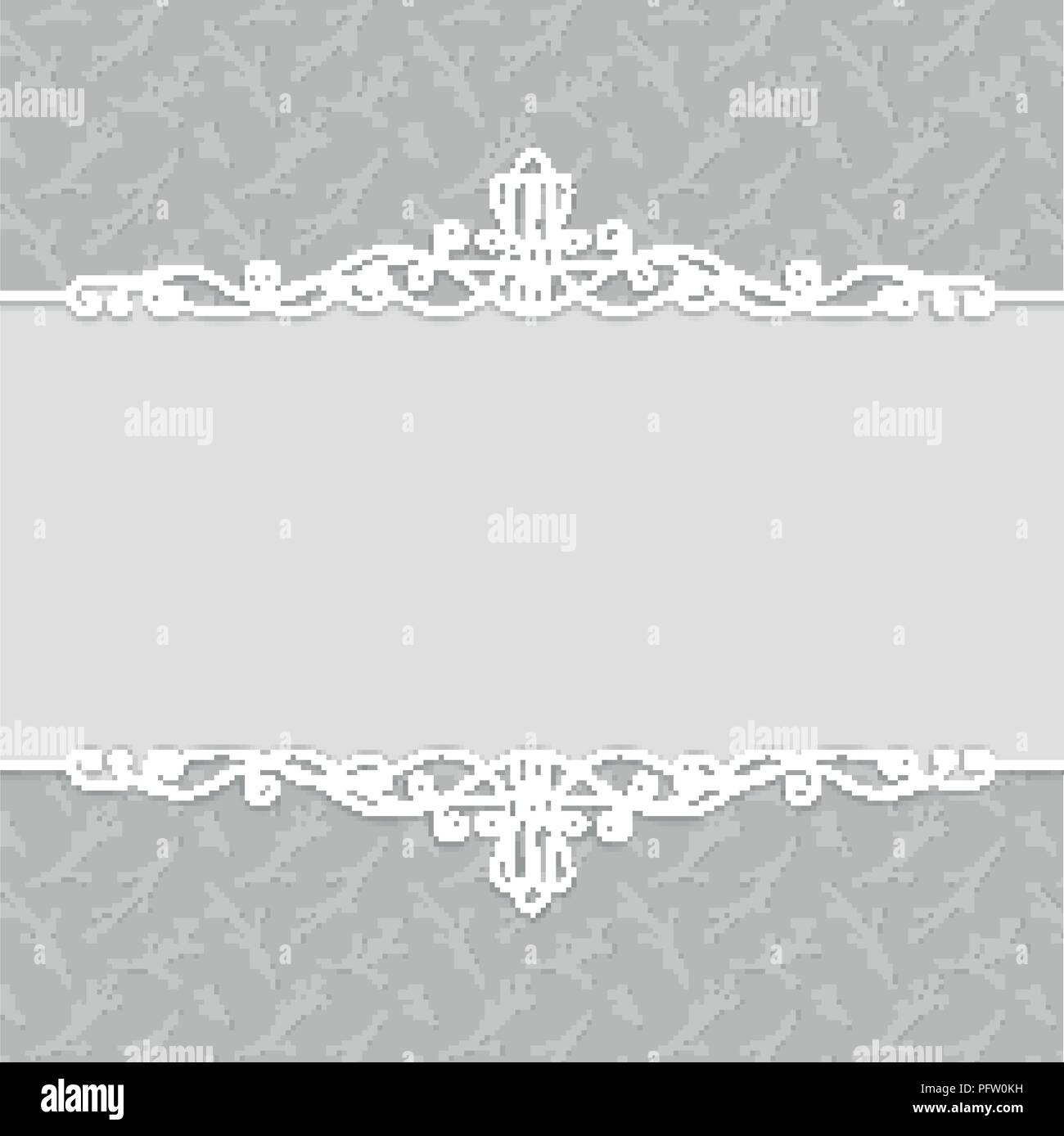 Vector frame of beautiful wedding invitations, postcards, greeting ...