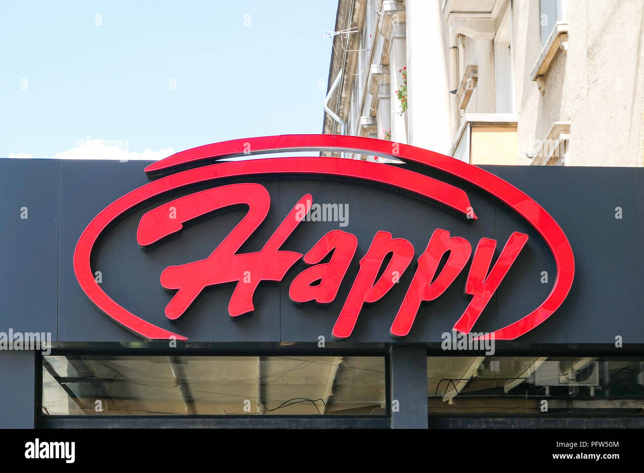 Happy Bar Grill Restaurant Chain Sofia Bulgaria Stock Photo Alamy